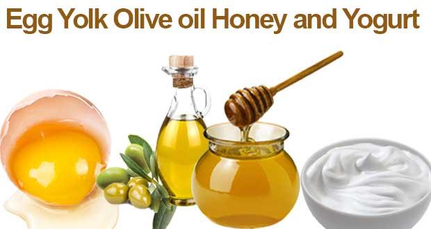 Egg-Yolk-Olive-oil-Honey-and-Yogurt