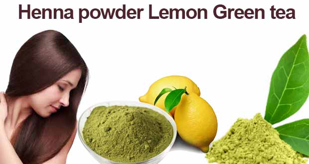 Henna-powder-Lemon Green-tea