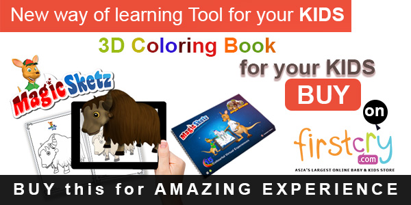 3d coloring book, magic sketz, augment works