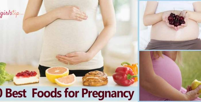 Pregnancy-Foods