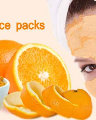 orange peel face packs